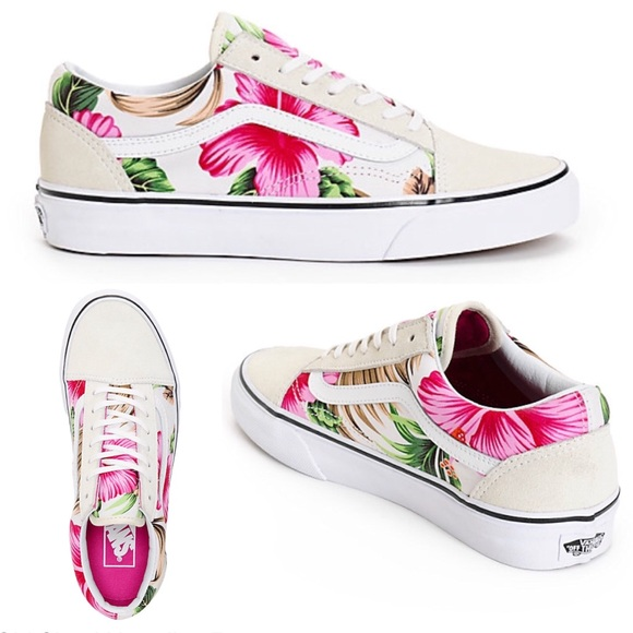 02aeff5e8e8e96 NEW Vans Old Skool Hawaiian Tropical skate shoes 7.  M 5b745d4510fc54a8fdc7d3fe